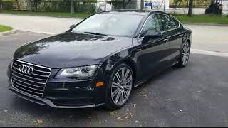 FOR SALE 2012 Audi A7 Quattro Supercharged Turbo 3.0 Sportback