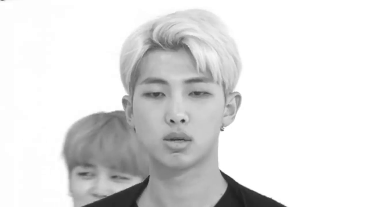 Kim Namjoon in about a minute