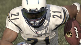 boss 99 overall ladanian tomlinson goes beast mode in close battle madden 16 ultimate gameplay