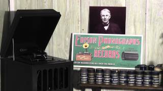Edison blue amberol cylinder 2653 - King Of The Air March (xylophone) by Charles Daab