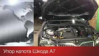 Упор капота на Škoda Octavia A7 (III, New)