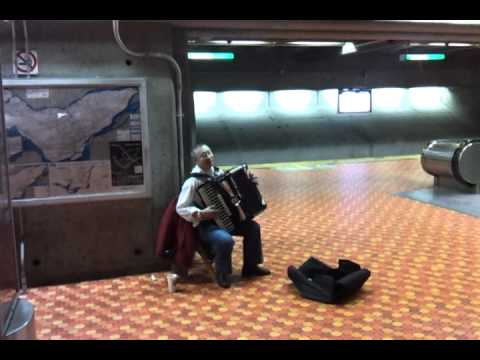 Russian melodies in montreal's subway
