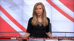 Alice Baxter - BBC World News Presenter 05/02/2014