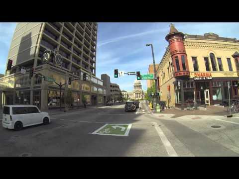 A trip through Downtown Boise's new bike lanes