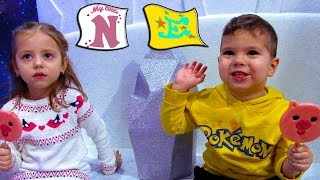 Играем вместе с My little Nastya !!! Егорка В развлекательном центре !!!