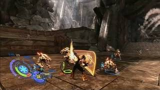 Too Human Xbox 360 Gameplay - Bear Reddener