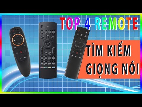 Top 4 Remote TÌM KIẾM GIỌNG NÓI Tốt Nhất Hiện Nay Cho TV BOX [Hieuhien.vn]