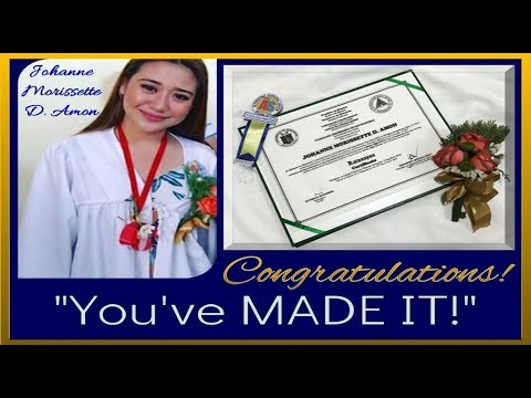 Congratulations Morissette Amon You've MADE It !