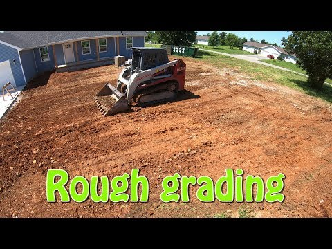 Rough Grading A Yard
