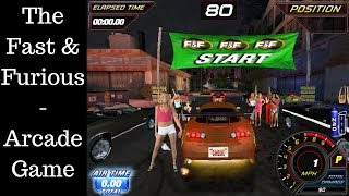 The Fast & Furious - Arcade [001] - Longplay ★ On Windows PC ★ Toyota Supra Maxed Out