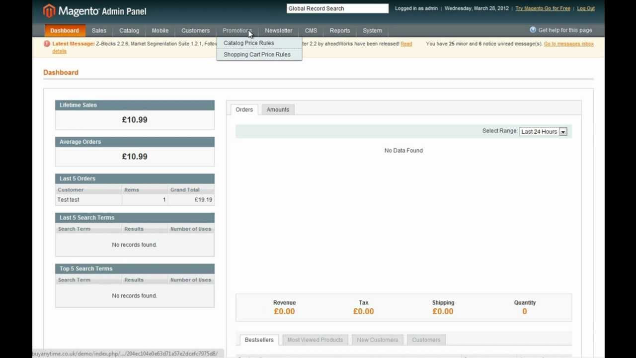 How to add promo codes coupons in magento magento for Design 911 discount code