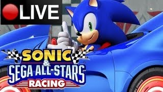 Sonic & Sega All Stars Racing Online Matches LIVESTREAM