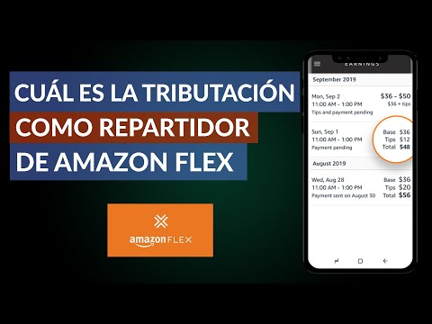 Cuál es la Tributación como Repartidor de Amazon Flex - ¿Se paga mucho?