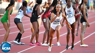 Texas A&M runs fastest world time in 4x400-meter relay at 2019 NCAA championships