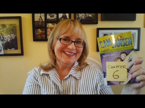 CHAPTER 6 Mystery of the Dinosaur Bones, Cam Jansen by David A Adler read by Mima for Mima's Zone TV