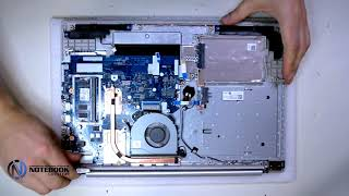 how to disassemble and clean laptop Lenovo Y580
