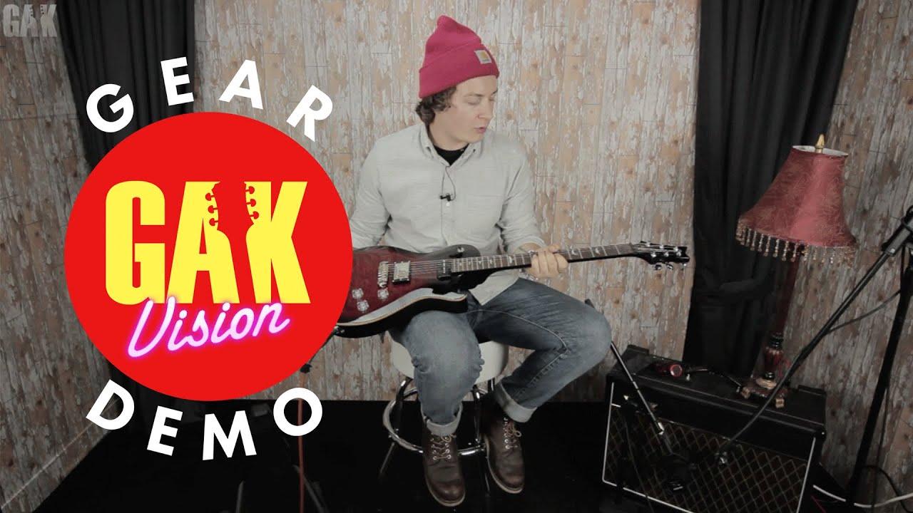 Gak Demo Prs Se Chris Robertson Signature With 57 08 Pickup Youtube Guitar Wiring Diagram