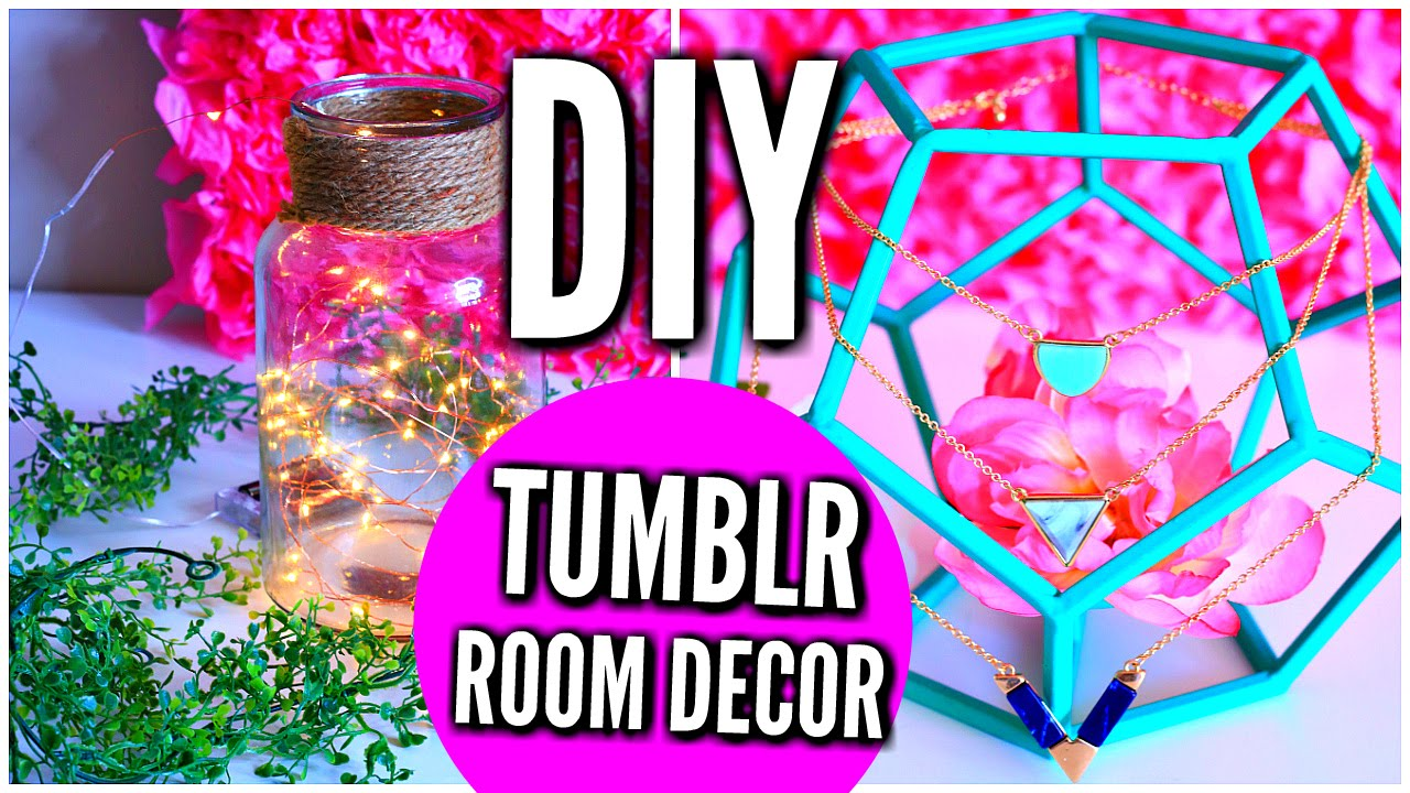 DIY Tumblr Room Decor 2016: Coachella Inspired  YouTube - Bedroom Decorating Themes