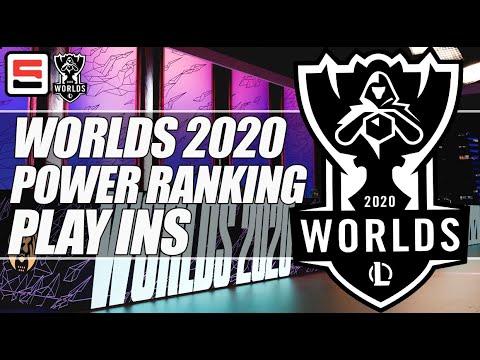 Espn S Worlds 2020 Play In Teams Power Ranking Which Team Reigns Supreme Espn Esports Youtube