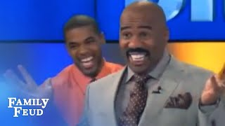 funny steve harvey family feud