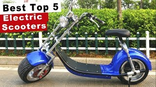 Best Top 5 Electric Scooters to Buy in 2020 Amazing Gadgets 2020 Cool Electric Products