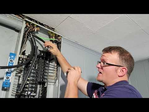 How to terminate main wires in a panel. Be a Pro. Learn from the Pros.