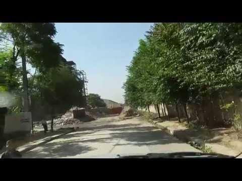 Kabul drive to University