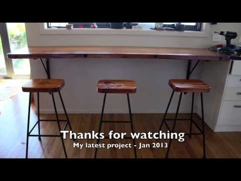 rimu-breakfast-bar-and-stools-project.-jan-2014