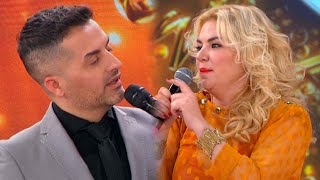 Esmeralda Mitre le puso los puntos a Ángel de Brito y amenazó con abandonar Cantando 2020
