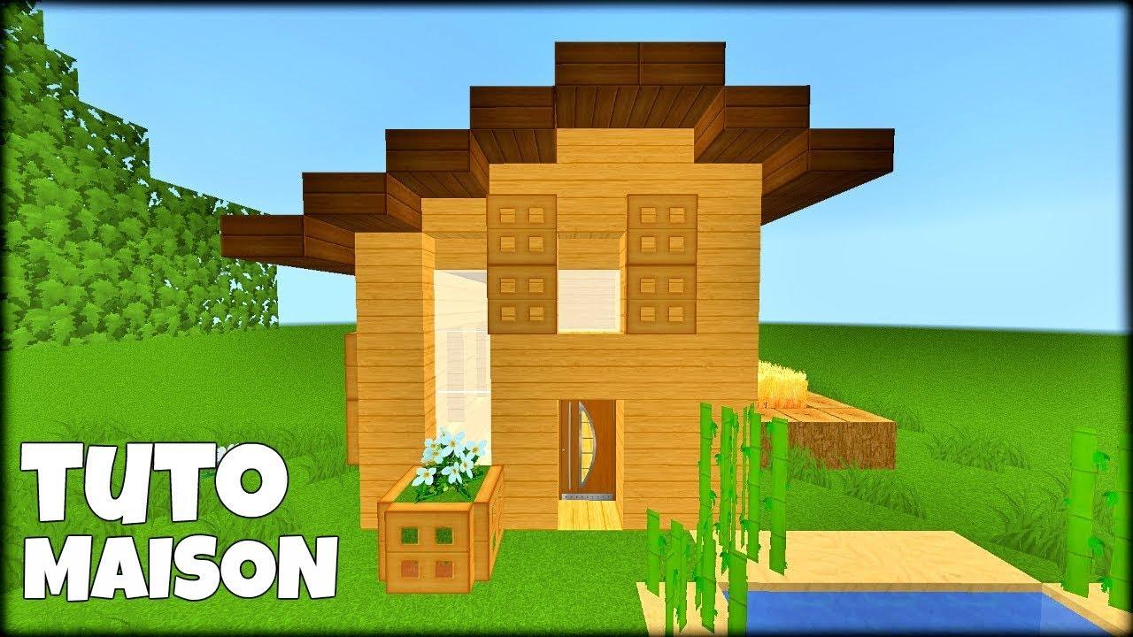 Tuto Maison Simple à Faire En Survie Minecraft Youtube