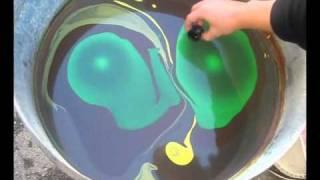 Multi color swirl test 1