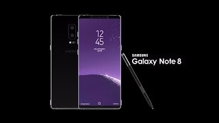 Samsung Galaxy note 8 introduction (concept)
