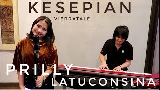 Download Kesepian (Vierratale) Cover by Prilly Latuconsina feat. Kevin Aprilio
