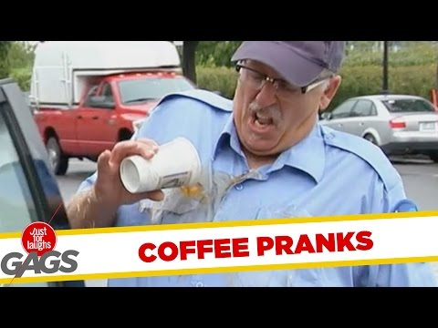 Caffeine Lovers Pranks - Best of Just For Laughs Gags
