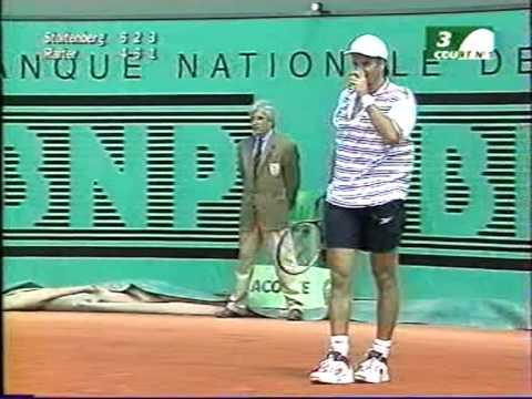 ATP Roland Garros 98 Rafter vs Stoltenberg 2nd