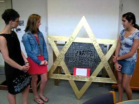 Prairie Grove Junior High School students talk about their Holocaust museum