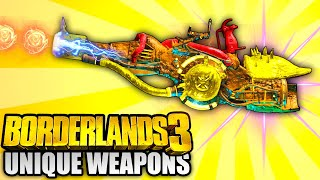 Borderlands 3 - Top 10 MOST UNIQUE Weapons IN THE GAME!