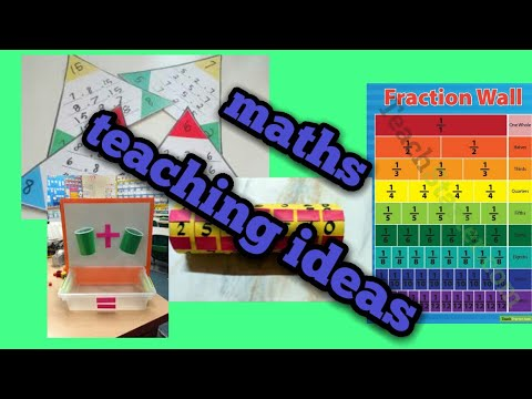 How to make teaching aids for Maths.