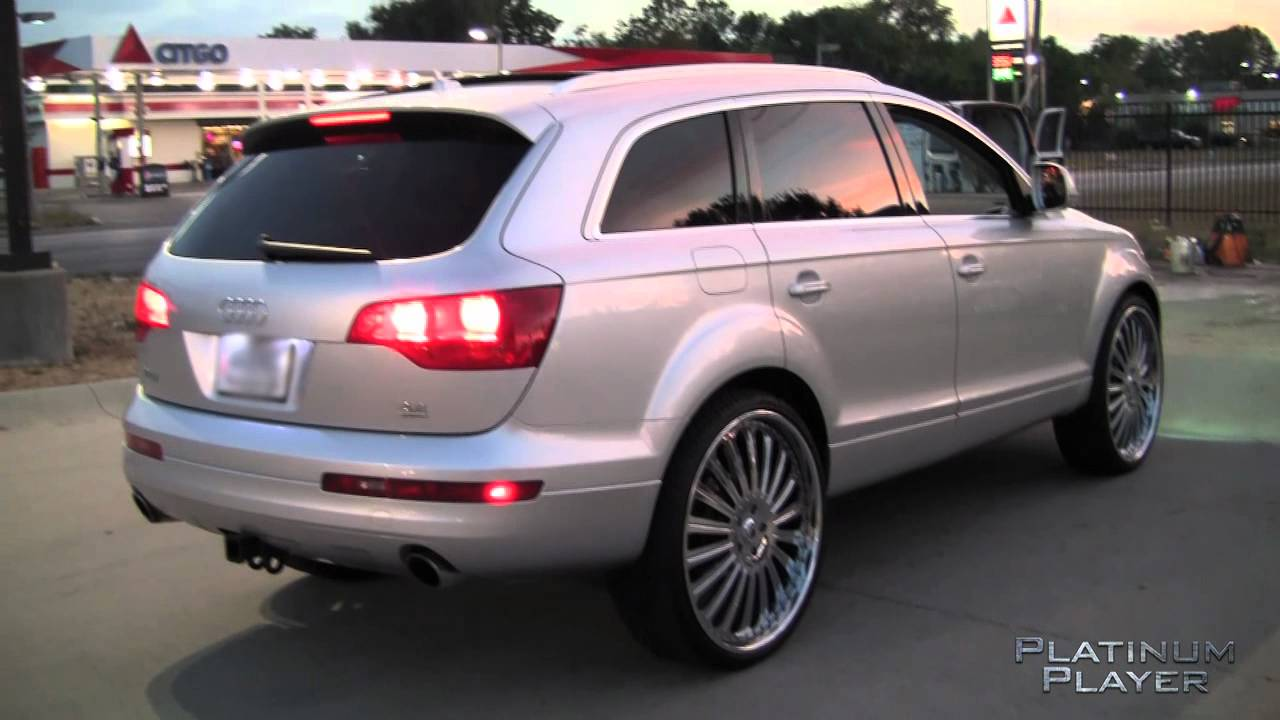 Audi Q7 On 26 Inch Asanti Af 125 Final Indianapolis Series Vid You