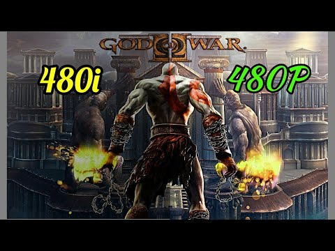 God of War II  (PS2) 480i VS 480P Comparison