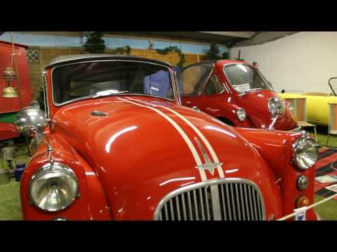 Bubble Car Museum, Langrick, Lincolnshire, 2016