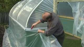 Fitting the Polythene Cover - V28