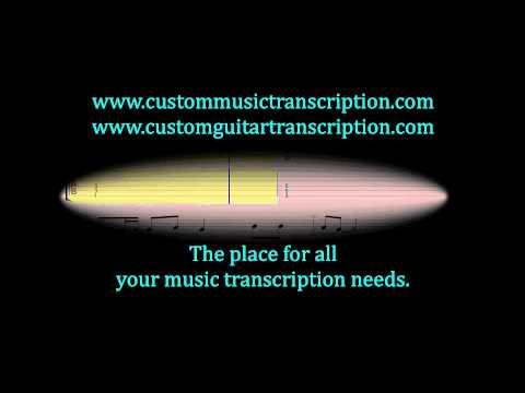 Love Song | The Damned | Custom Guitar Transcription