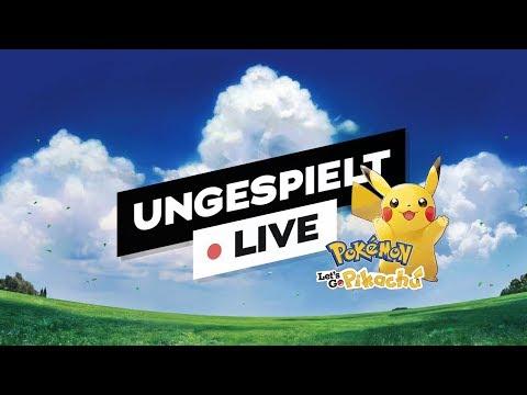 Pokémon Let's GO Pikachu 🔴 LIVE (48h Stream ab Freitag 20:00 Uhr)   #ungespielt