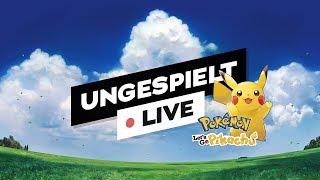 Pokémon Let's GO Pikachu 🔴 LIVE (48h Stream ab Freitag 20:00 Uhr) | #ungespielt
