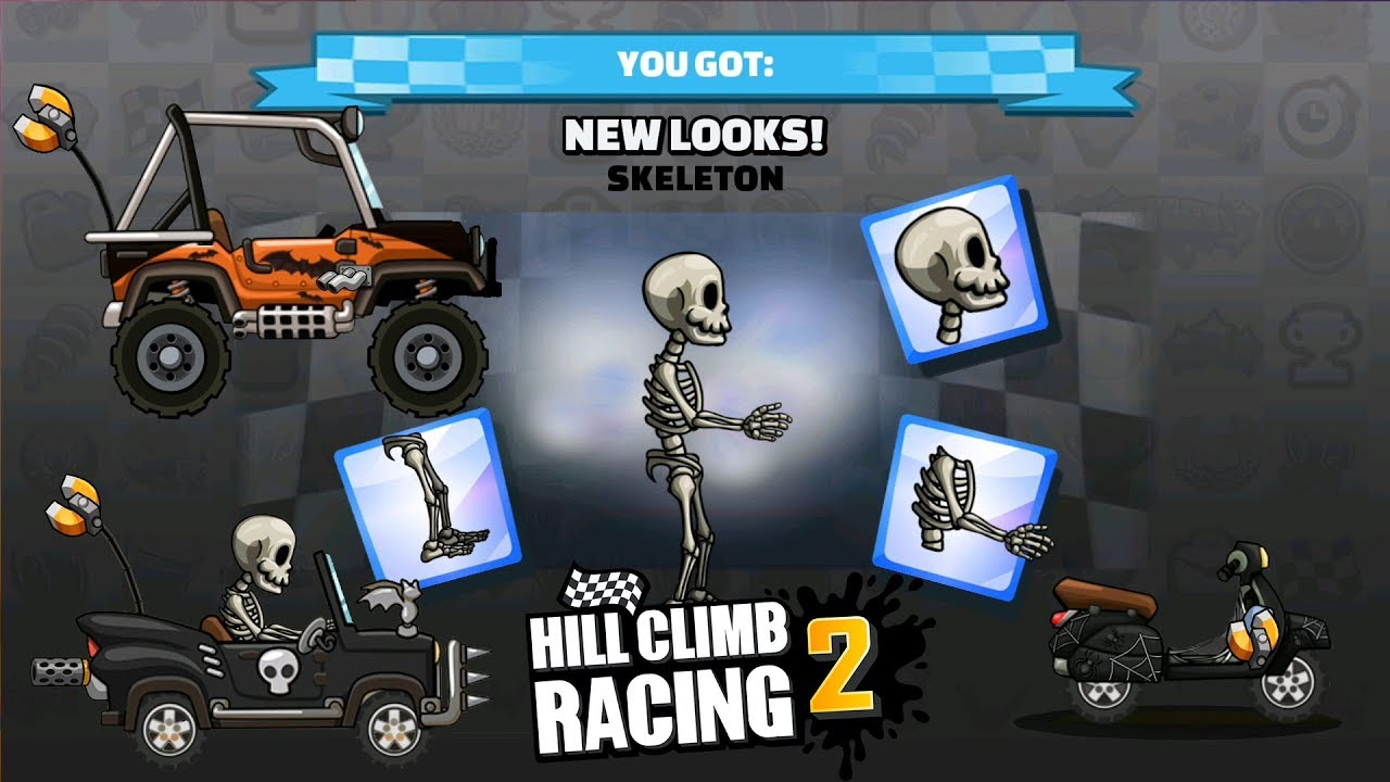 Escape The Zombie Hill Climb Racing 2 Halloween Look And