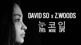 DAVID SO x Z.WOODS - EYES NOSE LIPS