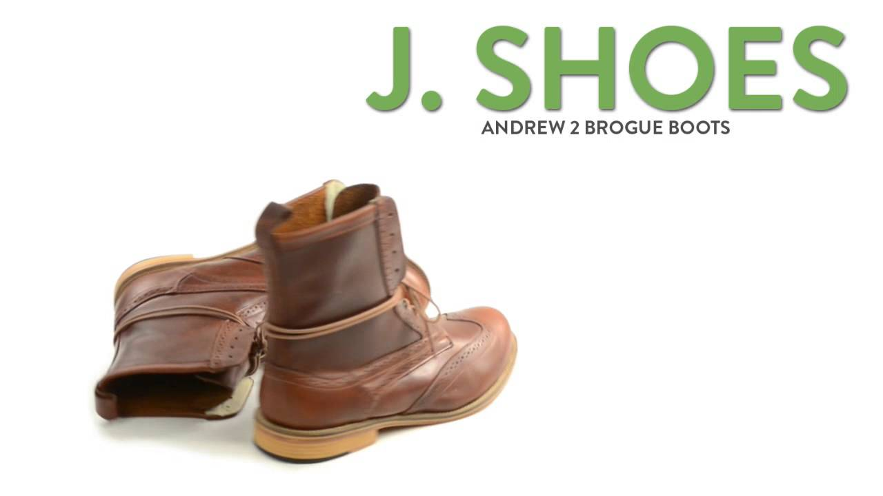 73ab0c389d7 J. Shoes Andrew 2 Brogue Boots (For Men)