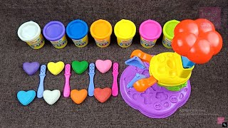 Making 4 Ice Cream Popsicle Play Doh Learn Numbers   Surprise Toys Kinder Surprise Eggs