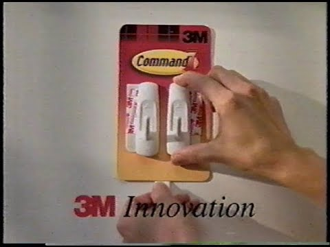 3M - Command Adhesive Hook Commercial (2001)